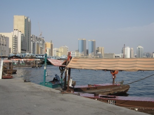 The old port of Dubai Creek.