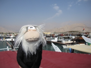 Me in the port of Dibba.